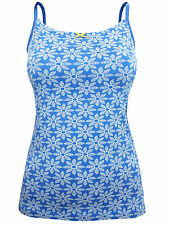 Seasalt Blue Fish Flower Cargo Nauti Camisole Vest – Size 8 to 18