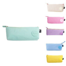 School Pencil Case for Boys Girls Canvas Large Capacity Pen Bag Stationery P8X2