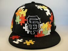 MLB San Francisco Giants New Era 59FIFTY Fitted Hat Cap Puzzle