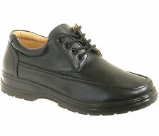 New in Box - Mens Black Comfort Shoes UK Size 6 7 8 9 10 11 12