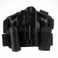 Tactical Right Leg Thigh Holster w Magazine Torch Pouch for SIG SAUER P226 P229