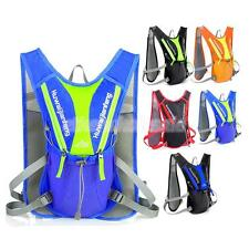 Vest Hydration Backpack Packs Can Hold 1.5L Water Bladder Bag Hiking Cycling