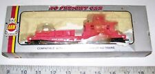 Vintage HO Operating SEARCHLIGHT M of W Work Train Caboose Style Tool Car w/ OB
