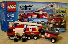 Lot of Lego city sets with boxes: 7239,7241,7630,60021