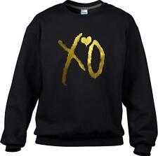 XO THE WEEKND GOLD Unisex Sweatshirt Jumper Pullover OVOXO The weeknd Drake GIFT