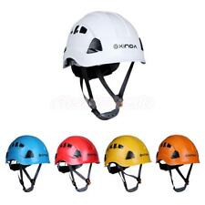 Safety Helmet Hard Hat Climbing Caving Kayaking Rappelling Rescue Protector Gear