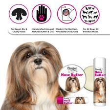 LHASA APSO ALL NATURAL, HANDCRAFTED NOSE BUTTER FOR DRY, CRUSTY DOG NOSES