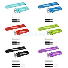 Sport Silicone Replacement Band Strap Bracelet For Garmin Forerunner 910XT