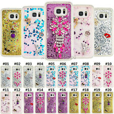 Dynamic Glitter Quicksand Clear Silicone Soft TPU Cover Case For Samsung Phones