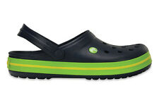MEN'S SHOES SNEAKERS CROCS CROCBAND [11016 NAVY/VOLT GREEN]