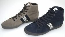 BIKKEMBERGS MAN SNEAKER SHOES BLUE OR TAUPE SUEDE CODE. BKE107280 - BKE107284
