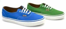 VANS MAN SNEAKER SHOES BLUE OR GREEN LEATHER CODE ERA DECON CA OX1FC3 - OX1FC4