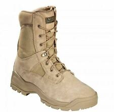 "5.11 Coyote 8"" ATAC Side Zip Boots Mens Tactical Operator Field Police Work Boot"