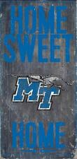 Middle Tennessee State MTSU Sign Home Sweet Home Wall Art