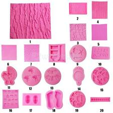 Various Shape 3D Silicone Cake Soap Sugarcraft Mould Decorating Jelly DIY Mold