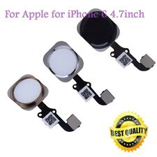 New Touch ID Sensor Home Button Key Flex Cable Replacement for iPhone 6&Plus FR