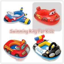Inflatable Floats Baby Toddler Float Boat Seat Swimming Ring Lightning McQueen
