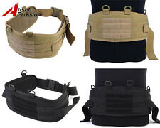 CALDERAGEAR Tactical Military Airsoft Molle CORDURA Combat Waist Padded War Belt