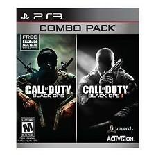 Call of Duty Black Ops & Black Ops II 2 Combo Pack - PlayStation 3