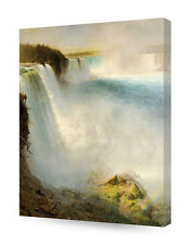 "DecorArts-""Niagara Falls""-Frederic Edwin Church.Fine Art Reproductions."""