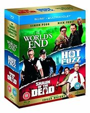 The Worlds End/Hot Fuzz/Shaun of the Dead [Blu-ray] [2004] [Region Free] [DVD]