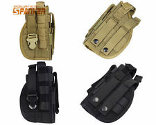 Tactical Military Airsoft Hunting 1000D Molle Right Hand Pistol Holster Pouch