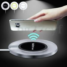 QI Acrylic Wireless Charger Charging Pad For iPhone 7 Galaxy S7 S8 Edge Note 5