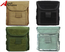 Airsoft 1000D Molle Tactical Admin Magazine Mag Storage Pouch Flashlight Bag