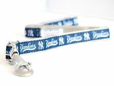 New York Yankees Dog Leash MLB Baseball Officially  Licensed Pet Product