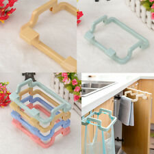 Portable Kitchen Trash Bag Holder Cabinets Cloth Rack Towel Storage Holder Rack