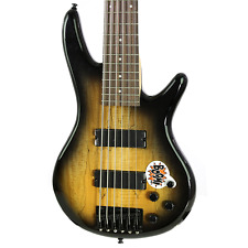 Brand New Ibanez GSR206SM Natural Grey Burst Electric Bass