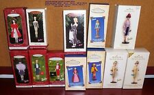 HALLMARK BARBIE DOLL ORNAMENT SERIES 1994 TO 2007 - 2006 LIMITED MATTEL U PICK