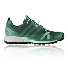 Adidas Terrex Agravic Womens Green Gore Tex Waterproof Running Shoes