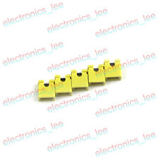 100pcs Yellow Red Blue 2.54mm Pitch Jumper Cap Header Pin Shunt