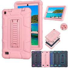 Kickstand Hybrid Shockproof Heavy Duty Hard Case Cover For Amazon Kindle Fire 7""