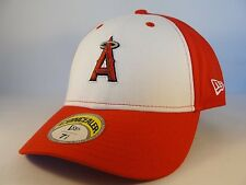 MLB Los Angeles Anaheim Angels New Era Fitted Hat Cap Concealer White Red