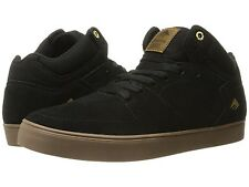 EMERICA 6102000112 964 THE HSU G6 Mn's (M) Black/Gum Leather Skate Shoes