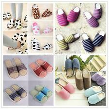 Women Men Home Anti-slip Shoes Soft Warm Sandal House Indoor Slippers Shoes AU
