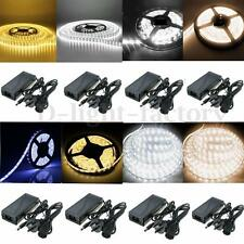 Double Row 5050 LED Strip Light 5M 300 600 SMD Tube Rope Light 12V Waterproof