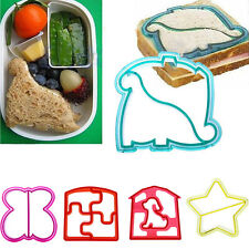 NEW KIDS BISCUIT DIY BREAD CAKE COOKIES CUTTER MOULD SANDWICH TOAST CUTTER MOLD