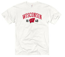 Wisconsin Badgers Adult Royalty White Out T-Shirt - White