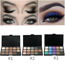 15 Color Eye Shadow Makeup Cosmetic Shimmer Matte Eyeshadow Palette Nude Set