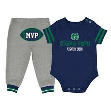 Infant MVP Notre Dame Fighting Irish Baby Bodysuit and Pant Set