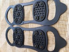 Universal Anti slip Snow and Ice Shoe Grips/Cleats Spikes Studded Grippers