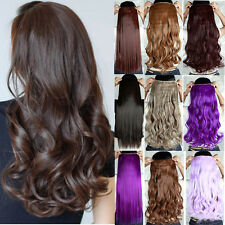 US Premium One Piece Hair Extensions Clip in Hair Extension real Human Feel Tk5