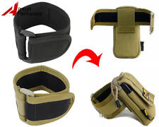 LooYoo Tactical Military Arm Strap Armband for Molle Phone Pouch Jog Gym Running