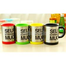 Double Insulated Self Stirring Mug 400ml Electric Coffee Cup Perfect Gift 6Color