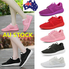 AU Women Breathable Casual Sport Shoes Sneakers Athletic Running Trainers Shoes