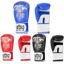 Adult Kids Boxing Gloves Punch Bag Sparring Muay Thai Kickboxing Fighting
