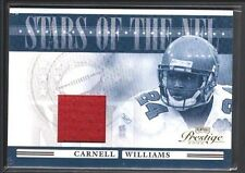 CARNELL CADILLAC WILLIAMS 2006 PLAYOFF PRESTIGE STARS OF NFL GAME JERSEY SP $15